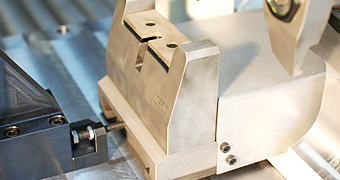 Hydraulische Spannvorrichtung von der IB-U Sondermaschinen GmbH